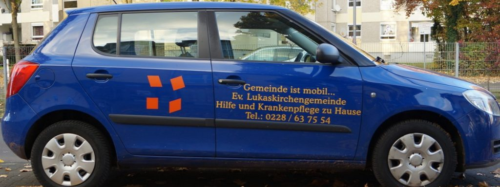 Lukas-Gemeindediakonie - Gemeinde ist mobil