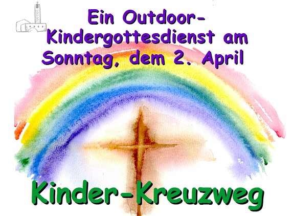 EInladung Kindergottesdienst 2. April 2017