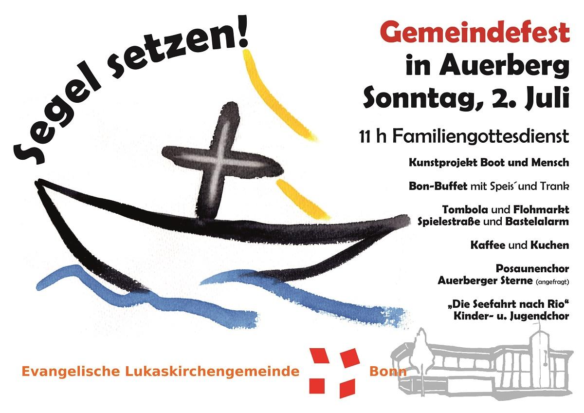 Gemeindefest 2017 - Einladung