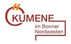 """Logo mit Text """"Ökumene im Bonner Nordwesten"""""""