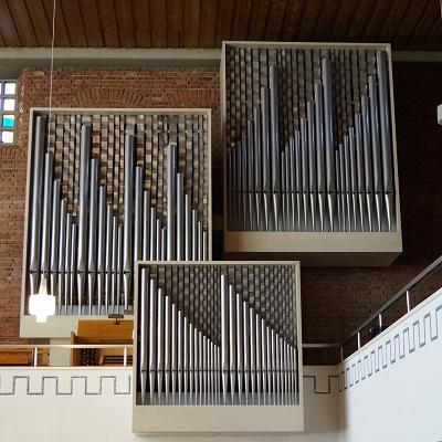Orgel der Lukaskirche Bonn