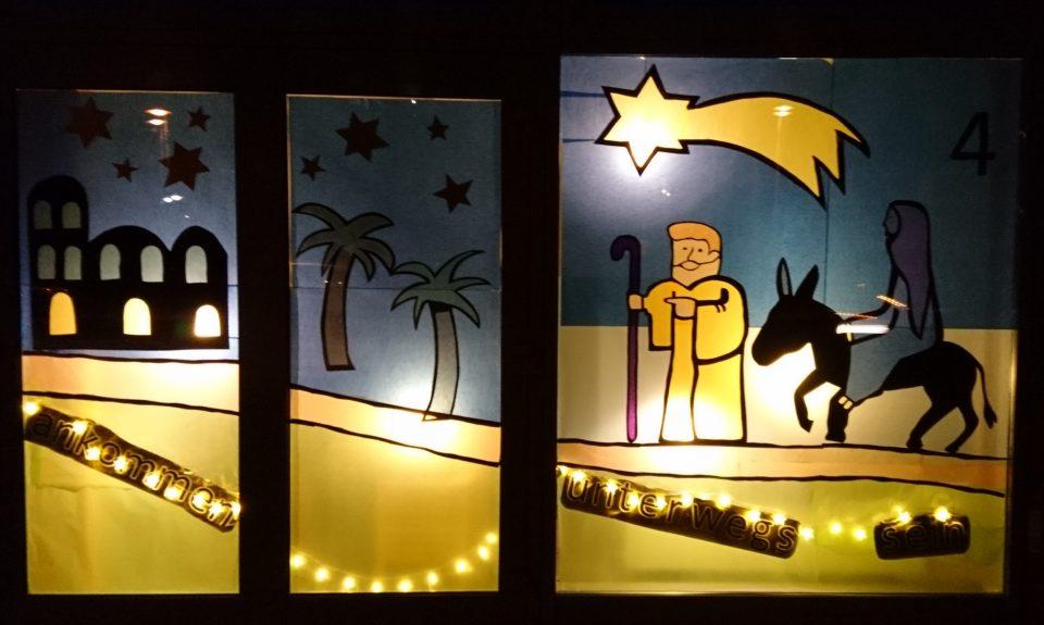 Adventsfenster der Lukas-Gemeindediakonie 2017