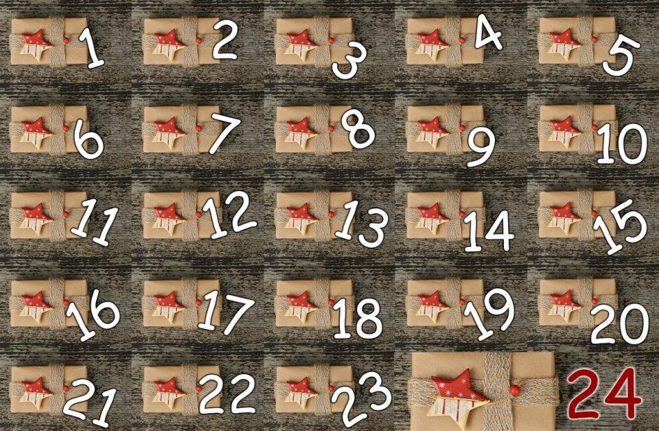 Adventskalender: Vierundzwanzig Päckchen