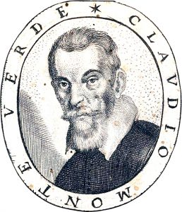 """Claudio Monteverdi. Portrait aus """"Fiori poetici"""", 1644. Quelle: Beinecke Rare Book Library / Wikipedia."""