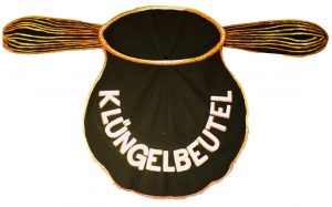 Kirchenkabarett Klüngelbeutel: Logo