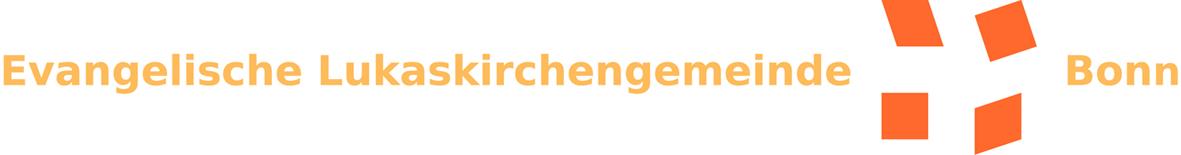 Logo der Evangelischen Lukaskirchengemeinde Bonn