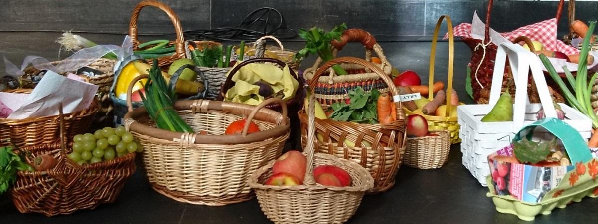 Erntedank-Gaben: Obst, Gemüse und mehr.